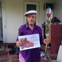 Привітання довгожителів Вилківської об'єднаної територіальної громади