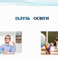 Звіт про діяльність закладів освіти за 2018 рік