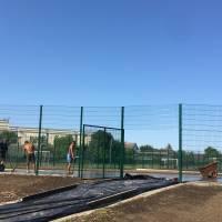 Завершення будівництва стадіону у Жашківській СПШ №1