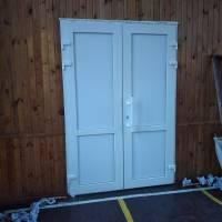 Заміна дверей у спортивному залі Скибинського ЗЗСО