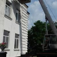 Ремонт даху у Жашківському ЗЗСО №2