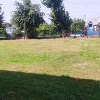 Обкошування стадіону у у Жашківському ЗЗСО №3