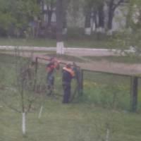 Ремонтні робти на прилеглій території Острожанського ЗЗСО