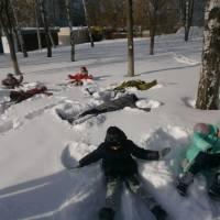 Малюнок на снігу. Смолінське НВО