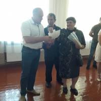 Вшанування пам'яті героя-односельця, що загинув в АТО Спасьонова В.В