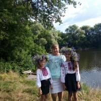 Привітання аматорів дитячого вокального ансамблю Степанівського селищного клубу