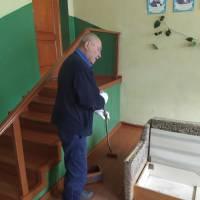 Ремонтні роботи в приміщенні Степанівського СБК