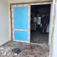 Нові двері на харчоблоці Степанівської ЗОШ