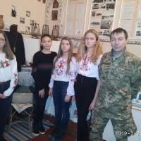 Зустріч з учасником АТО Курасовим М.В.