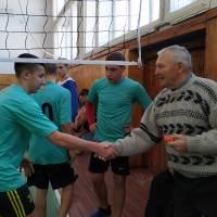 Вітання коменди села Новосуханівка з головним суддею