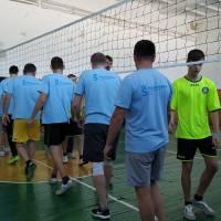 Привітання команд селища Степанівка та села Підліснівка (ветерани)