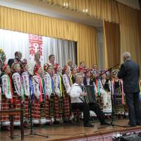 Заїць В.П. як учасник хорового колективу. День селища Степанівка 2019