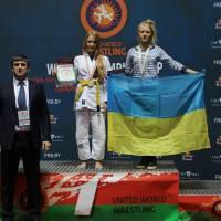 Бронзовий призер Віта Шевченко. 2016 міжнародний турнір у Білорусії