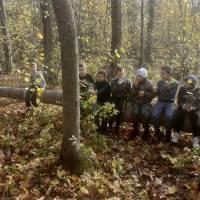 Екскурсія до осіннього лісу. Вересоцький ЗЗСО І-ІІІст