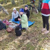 Велопохід до осіннього лісу «У гостях  у діда Осінника». ЦПО