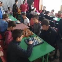 Учнівська спартакіада шахи,шашки та настільний теніс