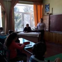 Засідання літературної світлиці у  Гриціївській ЗОШ І-ІІ ст.