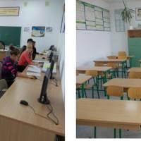 Школа має два комп`ютерні класи, доступ до мережі інтернет