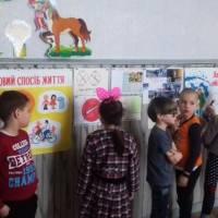 Виставка учнівських робіт, малюнків, плакатів та рефератів за темою