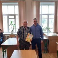 Ветеран, спортсмен з шахів та шашок Микола Афанасійович Доля