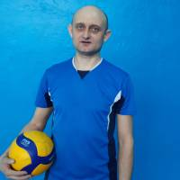 Гравець команди СОКІЛ - Микола Рябенко, кращий гравець чемпіонату з волейболу другого ігрового дня