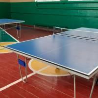 Місце проведення спортивних змагань з тенісу настільного
