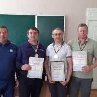 Зліва на право: В.Кормілець, С.Бистрицький, К.Швець, М.Пироженко.