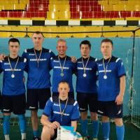 Команда з футзалу Великобурлуцької СТГ - срібний призер обласних змагань