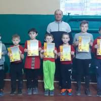 Учасників товариського матчу нагороджено пам'ятними грамотами