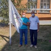 У Великобурлуцькій селищній ОТГ відбувся захід в рамках  Всеукраїнського Олімпійського уроку та Олімпійського тижня