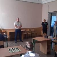 Привітання учасникам спортивних змагань з шашок