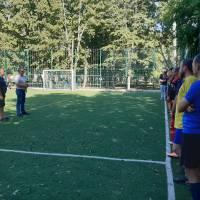 Привітання учасникам футбольних змагань