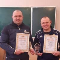 Переможець змагань - команда ЧЕМПІОН: Костянтин Стокін та Сергій Арестов.