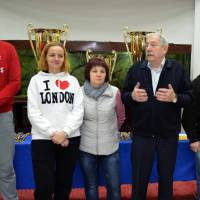 Представники Федерації волейболу Харківської області та учасники змагань
