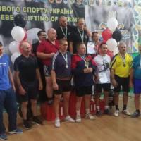Збірна ветеранів Харківської області з гирьового спорту - 2020