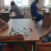 Даша Хоменко - наймолодша учасниця змагань з шашок