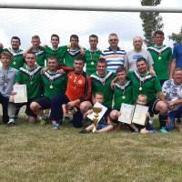 Команда ДРУЖБА (с. Григорівка) - переможець Суперкубку Великобурлуччини з футболу 2021 року