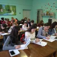Засідання літературної студії «Первоцвіт»