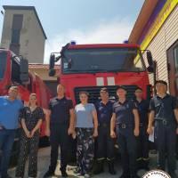 20 липня 2021 р. керівництво Одеської районної ради відвідало державні пожежно-рятувальні частини у місті Южне та селищі Доброслав