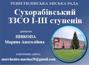 Сухорабівський ЗЗСО І-ІІІ ступенів Решетилівської міської ради